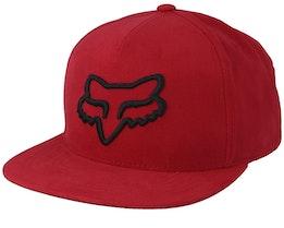 Instill Red/Black Snapback - Fox