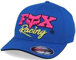 Castr Royal Blue/Pink Flexfit - Fox