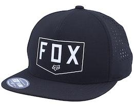Shielded Black Snapback - Fox