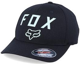 Number 2 Black/Light Green Flexfit - Fox