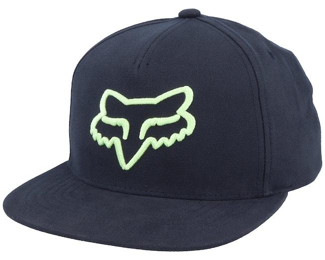 Instill Black/Green Snapback - Fox