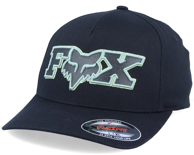 Ellipsoid Black/Green Flexfit - Fox