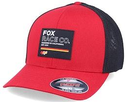 Mesh Hat Chili/Black Flexfit - Fox