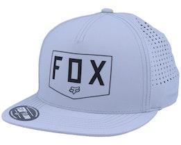 Shielded Snapback Hat [Gry]