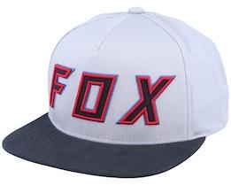 Posessed Light Grey/Red Snapback - Fox