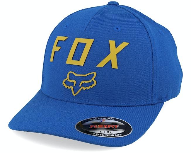 Number 2 Royal Blue/Yellow Flexfit - Fox