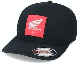 Honda Black/Red Flexfit - Fox