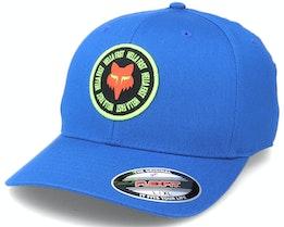 Mawlr  Hat Royal Blue Flexfit - Fox
