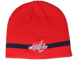 Washington Capitals Coach Red Beanie - Adidas