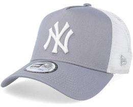 New York Yankees Clean 2 Gray/White Trucker - New Era
