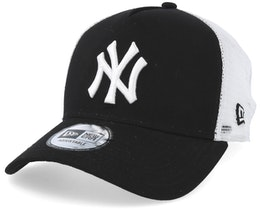New York Yankees Clean 2 Black/White Trucker - New Era