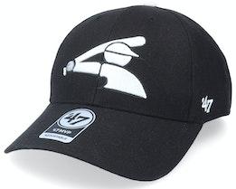 Chicago White Sox Mvp Black Adjustable - 47 Brand