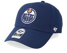 Edmonton Oilers Wool 47 Mvp Navy Adjustable - 47 Brand