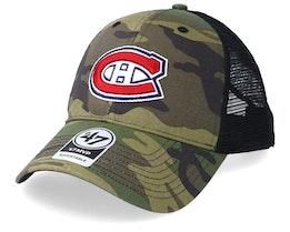 Montreal Canadiens 47 Mvp Camo/Black Trucker - 47 Brand