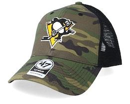 Pittsburgh Penguins 47 Mvp Camo/Black Trucker - 47 Brand