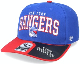 New York Rangers McCaw Mvp DP Royal/Red Adjustable - 47 Brand