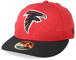Atlanta Falcons Low Pro 59Fifty Red/Black Fitted - New Era