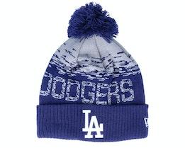 Los Angeles Dodgers Sport Knit Navy/Silver Pom - New Era