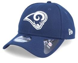 Los Angeles Rams The League Navy/White Adjustable - New Era