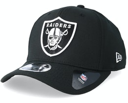Oakland Raiders Stretch Snap 9Fifty Black/White Snapback- New Era