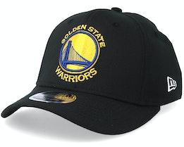 Golden State Warrior Stretch Snap 9Fifty Black/Gold/Blue Snapback- New Era