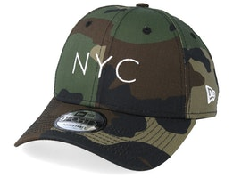 NYC Essential 9Forty Green Camo Adjustable - New Era