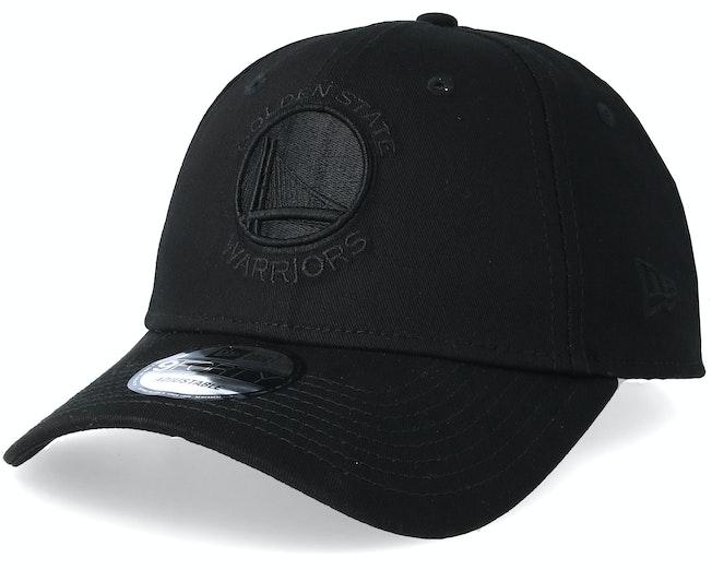 Golden State Warriors 9Forty Black/Black Adjustable - New Era
