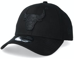 Chicago Bulls 9Forty Black/Black Adjustable - New Era