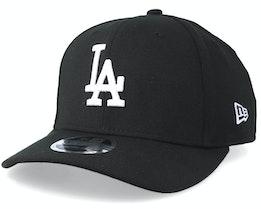 Los Angeles Dodgers 9Fifty Stretch Snap Black/White Snapback- New Era