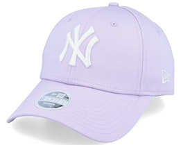 New York Yankees Women League Essential 9Forty Pastel Lavender/White Adjustable - New Era