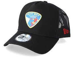 Iron Man 9Forty Character Af Black Trucker - New Era
