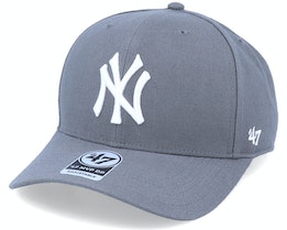 New York Yankees Cold Zone Mvp DP Charcoal/White Adjustable - 47 Brand