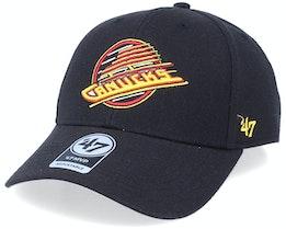 Vancouver Canucks Mvp Vintage Black/Yellow Adjustable - 47 Brand