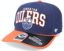Edmonton Oilers McCaw Mvp DP Light Navy/Orange Adjustable - 47 Brand