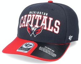 Washington Capitals McCaw Mvp DP Navy/Red Adjustable - 47 Brand