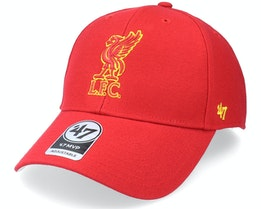 Liverpool FC Mvp Red Adjustable - 47 Brand
