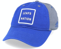 Toronto Maple Leafs Cotton Slouch Blue/Grey Adjustable - Adidas