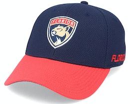 Florida Panthers Coach Navy/Red Flexfit - Adidas