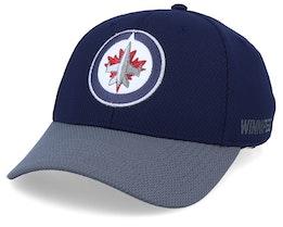 Winnipeg Jets Coach Navy/Grey Flexfit - Adidas