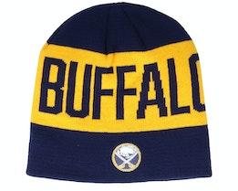 Buffalo Sabres 19 Yellow/Navy Beanie - Adidas