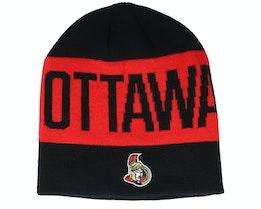 Ottawa Senators 19 Black/Red Beanie - Adidas
