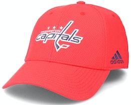 Washington Capitals Coach Structured Red Flexfit - Adidas