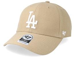 Los Angeles Dodgers 47 Mvp Wool Khaki/White Adjustable - 47 Brand