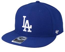 Los Angeles Dodgers Los Angeles Dodgers No Shot 47 Captain Royal Snapback - 47 Brand