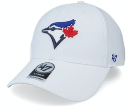 Toronto Blue Jays Mvp White Adjustable - 47 Brand