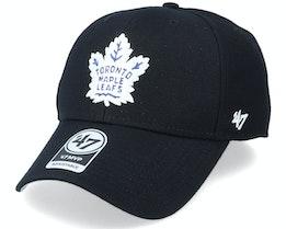 Toronto Maple Leafs Mvp Black/White Adjustable - 47 Brand