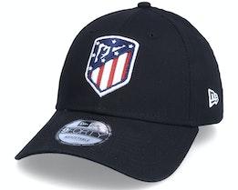 Atlético Madrid Essential 9FORTY Black Adjustable - New Era