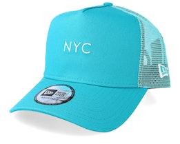 NYC Seasonal Teal Trucker - New Era