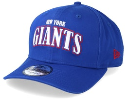 New York Giants NFL Pre Curved 9Fifty Royal Adjustable - New Era