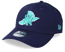 New York Yankees  Light Weight 9Forty Navy/Teal Adjustable - New Era